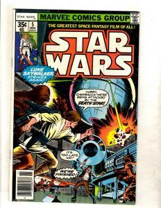 Star Wars # 5 NM- 1st Print Marvel Comic Book Jedi Skywalker Solo Chewy JF11