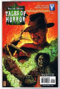 TALES of HORROR #1, NM+, Freddy, Texas Chainsaw, 2007, Wildstorm, Horror
