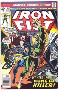 IRON FIST #10, VF, Chris Claremont, John Byrne, 1975 1976, Marvel, more in store