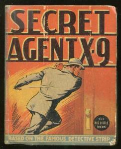 SECRET AGENT X-9-BIG LITTLE BOOK-#1144-1936-CHARLES FLANDERS ART-COMIC STRIP-vg