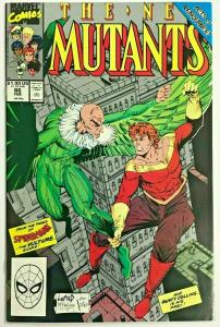 NEW MUTANTS#86 VF/NM 1990 FIRST ROB LIEFELD ON TITLE  MARVEL COMICS