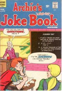 ARCHIES JOKE BOOK (1954-1982)173 VG June 1972 COMICS BOOK