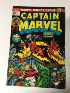 Captain Marvel 27 Vg Very Good 4.0 Marvel