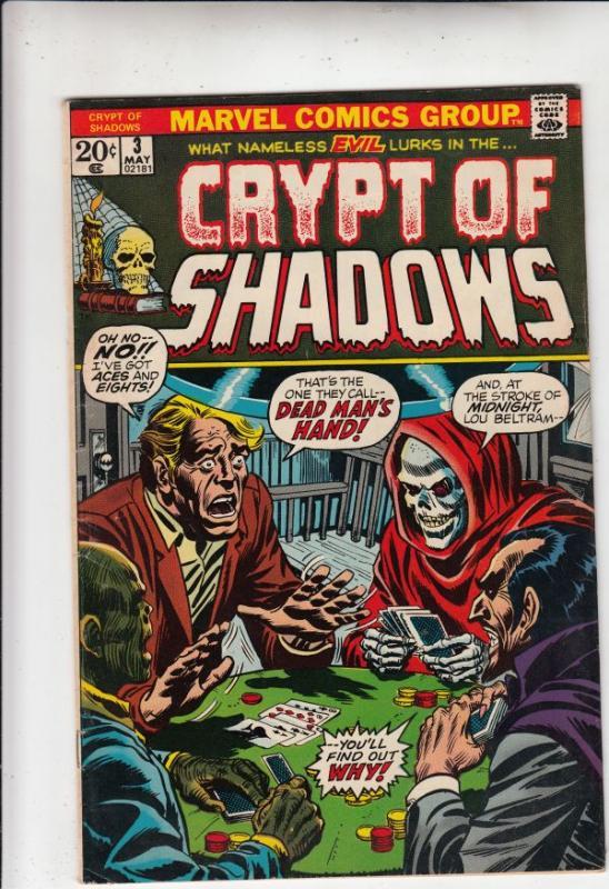 Crypt of Shadows #3 (May-73) VF/NM- High-Grade
