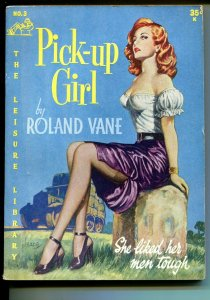 Leisure Library #3 1952-Roland Vance-spicy Good Girl art cover-Heade-VG/FN