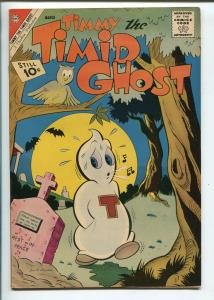 TIMMY THE TIMID GHOST #31 1962-CHARLTON-RARE ISSUE-nm minus