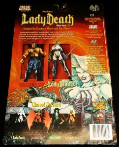 Brian Pulido's Lady Death II Action Figure by Clayburn Moore (Chaos, 1999)