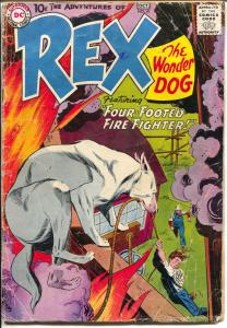 Adventures of Rex The Wonder Dog #41 1958-DC-Gil Kane art-G/VG