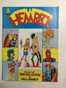 Hembeck The Best Of Dateline Magazine Near Mint- Nm- 9.0 Fantaco Publications