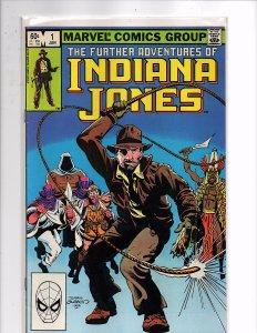 Marvel Comics Further Adventures of Indiana Jones #1 John Byrne Story and Art