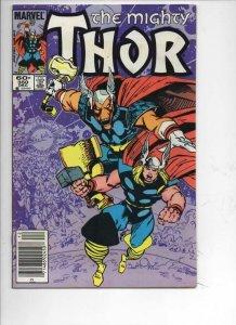 THOR #350 VF- God of Thunder Simonson 1966 1984, more Thor in store, Marvel