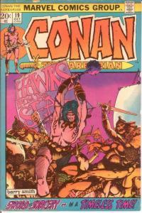 CONAN THE BARBARIAN 19 VG Oct. 1972 COMICS BOOK