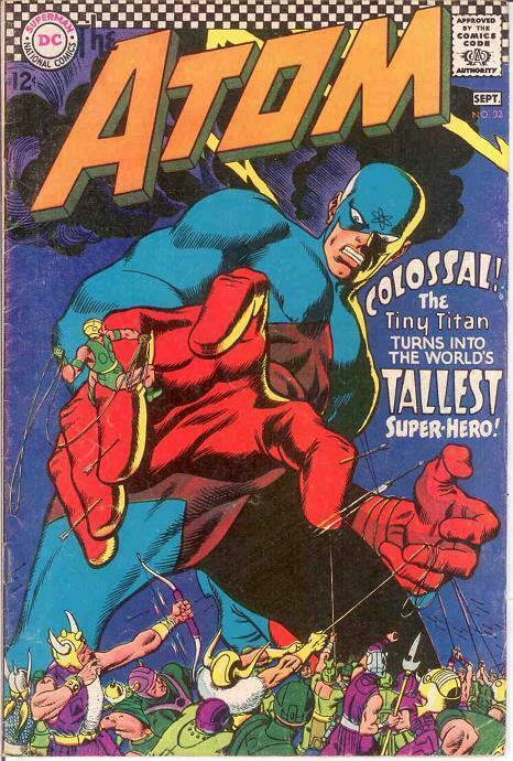 ATOM 32 VG-F  September 1967 COMICS BOOK