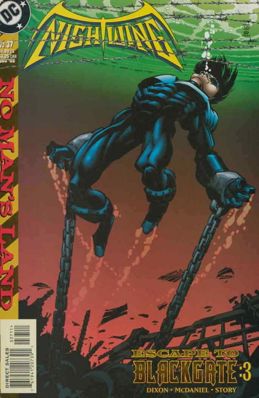 Nightwing #37 VF/NM; DC | save on shipping - details inside