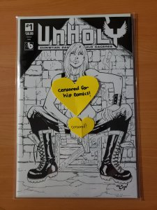 *RARE* Unholy #1 Sketch Century Nude Variant Cover 1/50 ONLY 50 MADE!