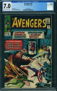 Avengers #18 (Marvel, 1965) CGC 7.0