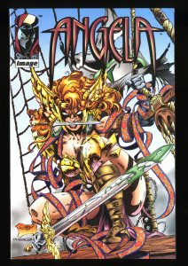 Angela Special Edition #1 NM- 9.2 Pirate Angela Cover Variant