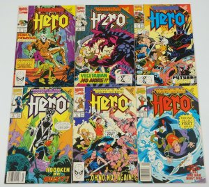 Hero #1-6 VF/NM complete series DAVID MICHELINIE steve purcell 2 3 4 5 marvel