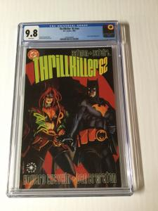 Thrillkiller '62 1 NN Cgc 9.8 White Pages Early Harley Quinn Appearance