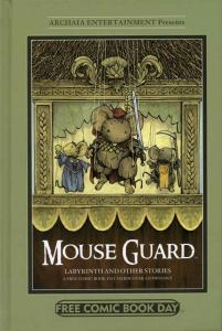 Mouse Guard Labyrinth and Other Stories FCBD HC #20 12 VF/NM; Archaia | save on