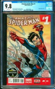Amazing Spider-Man #1 CGC Graded 9.8