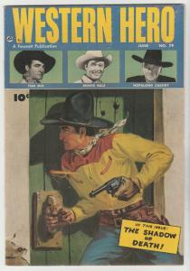 Real Western Hero #79 (Jun-49) VF/NM High-Grade Hopalong Cassidy, Monte Hale,...