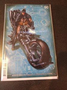 DETECTIVE COMICS #993 Mark Brooks Batcycle VIRGIN VARIANT Cover