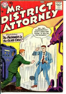 Mr. District Attorney #64 1958-DC-Prisoner in The Glass Cage-VG
