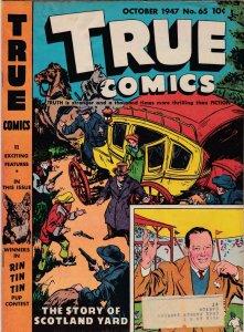 True Comics 65 VG (October 1947)