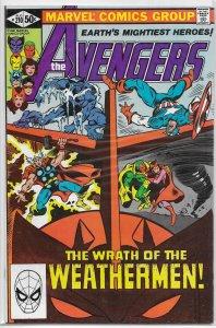 Avengers   vol. 1   #210 FN/VF