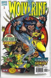 wolverine#110,111,112,113,116 5 issue lot NMNT $5.00