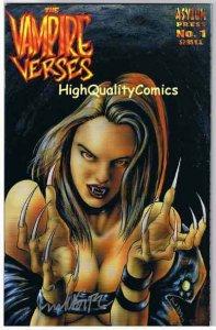 VAMPIRE VERSES #1,Frank Forte, Signed, 3rd, 2001, NM+