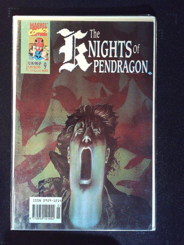 Knights of Pendragon (UK) #9 (1991)