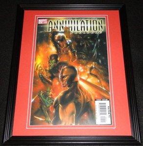 Annihilation Prologue #1 Marvel Framed Cover Photo Poster 11x14 Official Repro