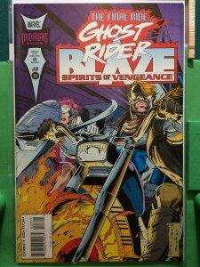 Ghost Rider & Blaze Spirits of Vengeance #23 Final Issue