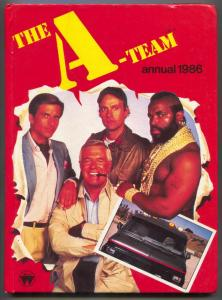 The A-Team Annual 1986- Mr T- Peppard- published in UK