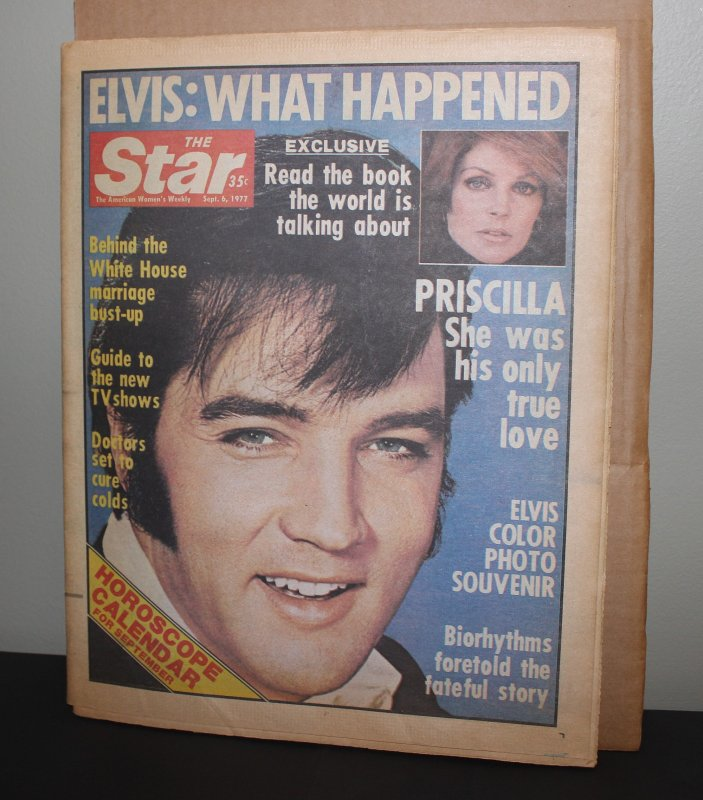 Elvis Presley Star Paper September 6, 1977