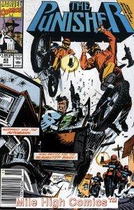 PUNISHER  (1987 Series)  (MARVEL) #43 NEWSSTAND Very Good Comics Book