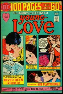 Young Love #112 1974- DC Romance 100 page giant- Never Been Kissed VG