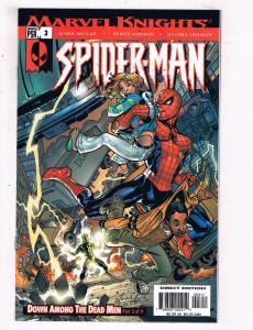 Marvel Knights Spider-Man #3 VF Marvel Comics Comic Book Millar DE22