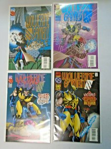 Wolverine Gambit Victims Set #1-4 Average 8.0 VF (1995)