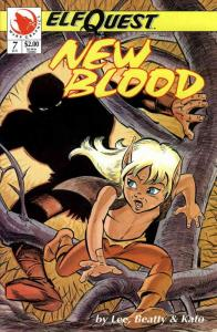 Elfquest: New Blood #7 VF/NM; Warp   save on shipping - details inside