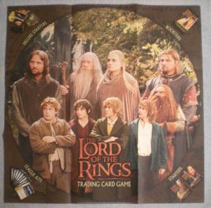 LORD OF THE RINGS Promo poster, 27 x 27, 2001, Unused, more in our store