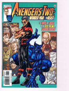 Avengers Two: # 1 Marvel Comic Books Hi-Res Scans Awesome Issue Modern Age!! S10