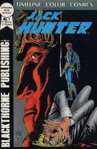 Jack Hunter #1 - Timeline Color Comics/Blackthorne Publishing Inc. - July 1987