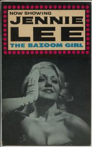Jennie Lee-The Bazoom GIrl #1 1960's-1st issue-cheesecake pix-VG/FN