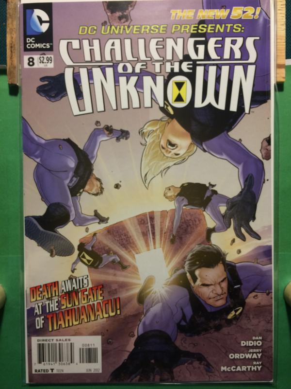 Challengers of the Unknown #8 The New 52