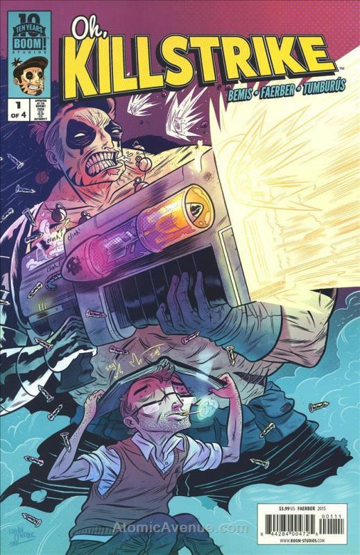 Oh, Killstrike #1 VF/NM; Boom! | save on shipping - details inside