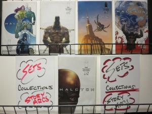 HALCYON (2010 IM) 1A,2B,3-5  COMPLETE! COMICS BOOK