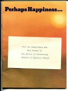 L Ron Hubbard Scientology Handbook-Dianetics-1973-elusive item-FN/VF